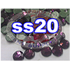 Rhinestones | SS20/5.0mm | Dark Amethyst | 100 Gross