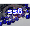 Rhinestones | SS06/2.0mm | Dark Sapphire | 05 Gross