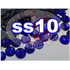 Rhinestones | SS10/2.8mm | Dark Sapphire | 500 Gross