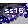 Rhinestones | SS16/4.0mm | Dark Sapphire | 25 Gross
