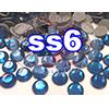 Rhinestones | SS06/2.0mm | Hotfix Rhinestone/Deep Blue | 500 Gross