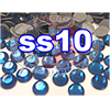 Rhinestones | SS10/2.8mm | Hotfix Rhinestone/Deep Blue | 100 Gross