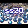 Rhinestones | SS20/5.0mm | Deep Blue | 25 Gross