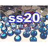 Rhinestones | SS20/5.0mm | Deep Blue | 100 Gross