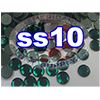 Rhinestones | SS10/2.8mm | Emerald | 100 Gross