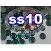 Rhinestones   SS10/2.8mm   Emerald   100 Gross