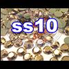 Rhinestones   SS10/2.8mm   GoldHemetite   100 Gross