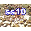 Rhinestones | SS10/2.8mm | GoldHemetite | 250 Gross