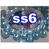 Rhinestones | SS06/2.0mm | Light Aqua | 100 Gross