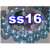 Rhinestones | SS16/4.0mm | Light Aqua | 25 Gross