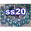 Rhinestones | SS20/5.0mm | Light Aqua | 25 Gross