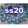 Rhinestones | SS20/5.0mm | Light Aqua | 25 Gross