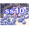 Rhinestones | SS10/2.8mm | Light Sapphire | 25 Gross