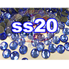 Rhinestones | SS20/5.0mm | Sapphire | 10 Gross