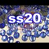 Rhinestones | SS20/5.0mm | Sapphire | 50 Gross