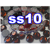 Rhinestones | SS10/2.8mm | Smoked Topaz | 100 Gross