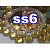 Rhinestones | SS06/2.0mm | Topaz | 250 Gross