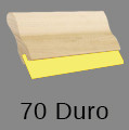 70 Durometer Squeegee - Wooden Handle