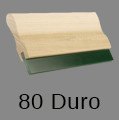 80 Durometer Squeegee - Wooden Handle