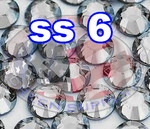Rhinestones | SS6/2.0mm | Crystal(Clear) | 250 Gross