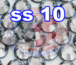Rhinestones | SS10/2.8mm | Crystal(Clear) | 25 Gross