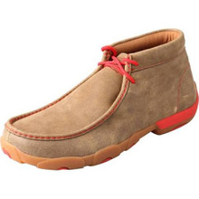 Twisted X Mens Driving Mocs Red