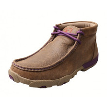 Womens Twisted X Driving Mocs Purple