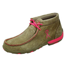 Womens Twisted X Driving Mocs Dusty Pink