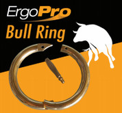 """Brass bull rings (Box of 100) 2.5"""" 2.75"""" and 3"""" Equals €3.49 each!"""