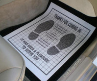 Premium Paper Floor Mats