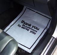 plastic car floor mats
