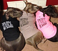 """DONT BULLY MY BREED"" Dog Zip-Ups ➜More Colors"