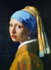 Girl with A Pearl Earring by Vermeer 1000-Piece Puzzle