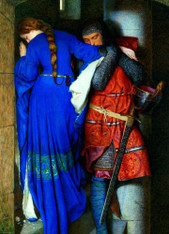 Meeting Turret Stairs by Frederick William Burton 1000-Piece Puzzle