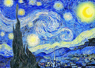 Starry Night by Vincent Van Gogh 1000-Piece Puzzle