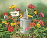 Zinnia Garden / Essick