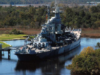 A beautiful picture of the Battleship North Carolina!