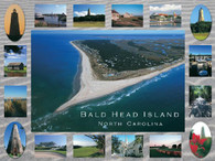 A beautiful postcard style picture of Bald Head Island!