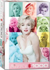 Marilyn Monroe - Color Portraits Jigsaw Puzzle  EuroGraphics Marilyn by Milton Greene