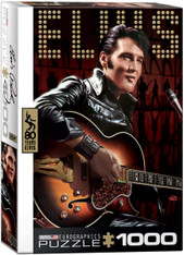 Elvis Comeback Special 1000-Piece Puzzle  EuroGraphics Elvis Presley portrait