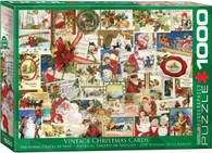 Vintage Christmas Cards 1000-Piece Jigsaw Puzzle