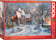 Christmas Cottage 1000-Piece Jigsaw Puzzle