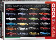 The Lamborghini Legend 1000-Piece Jigsaw Puzzle