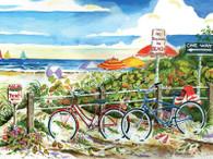 No bikes on the beach