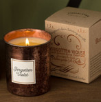 Metallic Rose Gold Patina Candle