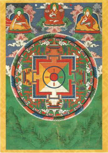 Mandala with thunderbolts, 1800-1900