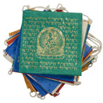 Green Tara Prayer Flag Garland