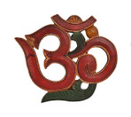 Wooden OM Wall Hanging