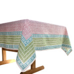 Delight / Sunrise Handblock Printed Tablecloth