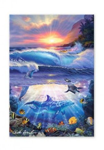 Dolphins Magic Island Magnet - 12190000